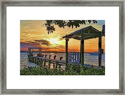 A Glorious Morning Framed Print by HH Photography of Florida