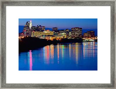 A Glorious Night In Hartford Framed Print by Frozen in Time Fine Art Photography