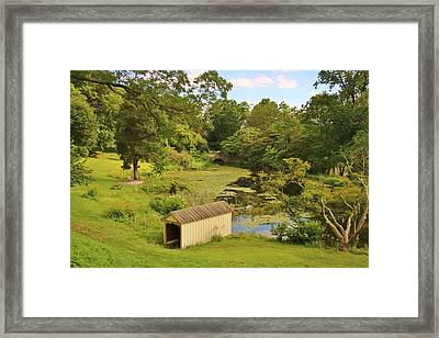 A Glorious Place To Visit Framed Print