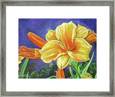 A Glow Of Happiness Framed Print
