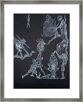 A Godlike Life Framed Print by Fabrizio Cassetta