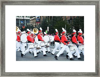 A Good Day For A Parade Framed Print
