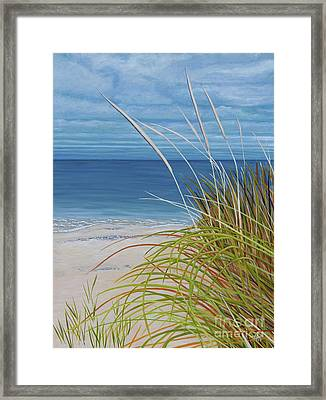 A Good Day For Beachcombing Framed Print