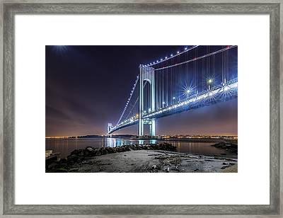 A Good Evening Framed Print