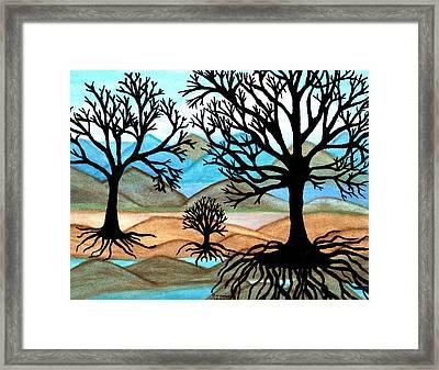 A Good Foundation Framed Print by Connie Valasco