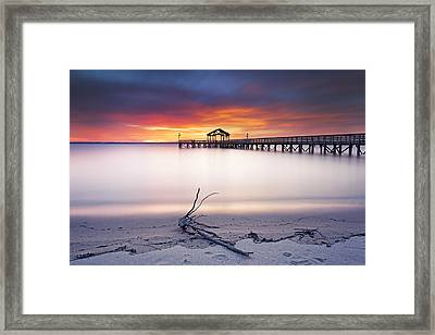 Framed Print featuring the photograph A Good Morning by Edward Kreis