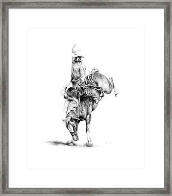 A Good Ride Framed Print by Karen Elkan