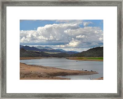 A Good Spot Framed Print by Gordon Beck