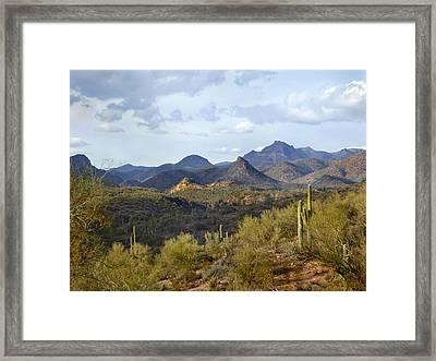 A Good View Framed Print by Gordon Beck
