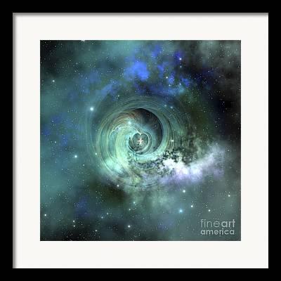 Twinkle Digital Art Framed Prints