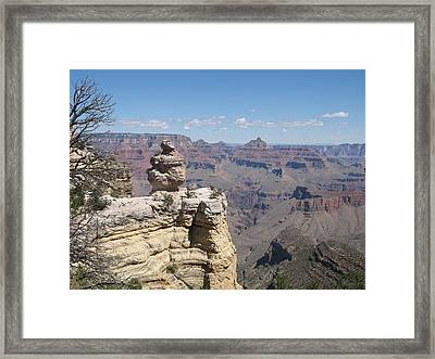 A Grand Canyon Viewpoint Framed Print by Christiane Schulze Art And Photography