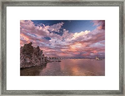 A Grand Scale II Framed Print by Jon Glaser