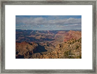 A Grand View Framed Print by E Mac MacKay