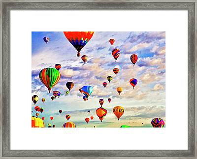 A Great Day To Fly Framed Print