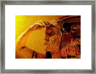 A Great Storm Is Coming Framed Print