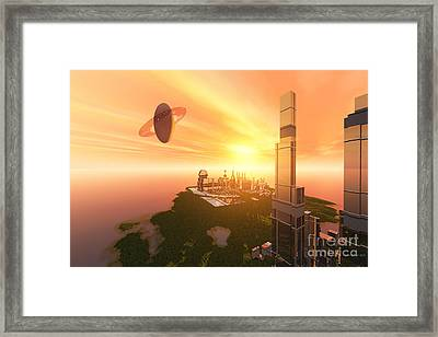 A Great Vision Framed Print by Corey Ford