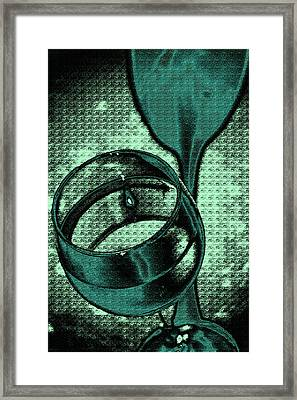 A Green Toast  Framed Print by Marnie Patchett