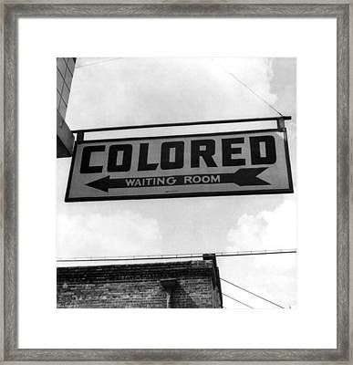 A Greyhound Bus Trip From Louisville Framed Print by Everett