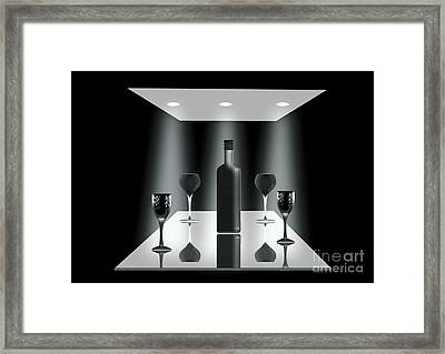 A Group Of Frends Framed Print by Peter McHallam