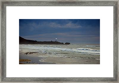 A Guiding Light Framed Print