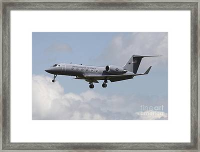 A Gulfstream C-20h Executive Transport Framed Print