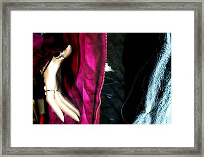 A Hand Becky Framed Print by Jez C Self