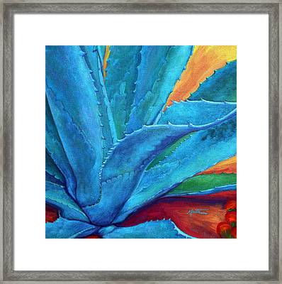 A Hand Out Framed Print by Athena  Mantle