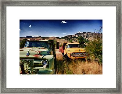 A Hard Day's Night Framed Print