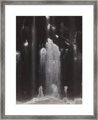 A Hard Water's Gonna Spray #3 Framed Print