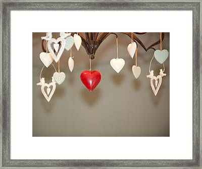 A Heart Among Hearts I Framed Print