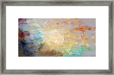 A Heart So Big - Custom Version 4 - Abstract Art Framed Print by Jaison Cianelli