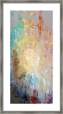 Framed Print featuring the painting A Heart So Big - Custom Version 5 - Abstract Art by Jaison Cianelli