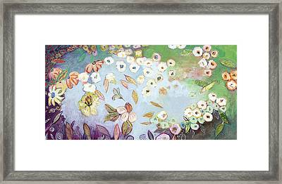 A Hidden Lagoon Framed Print by Jennifer Lommers