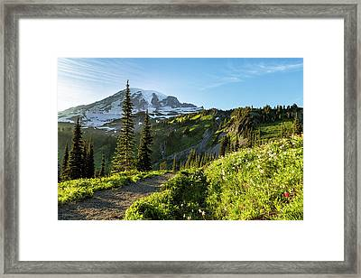 A Hike To Remember Framed Print