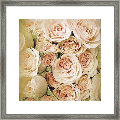 A Hint Of Rose Framed Print by Jessica Jenney