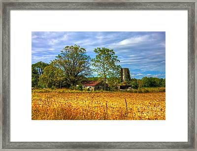 A History Lesson Framed Print by Robert Pearson