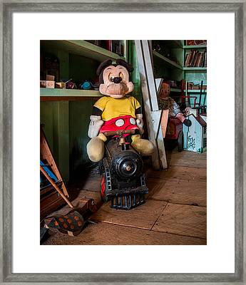 A Home For Mickey 2 Framed Print by Lisa Bell