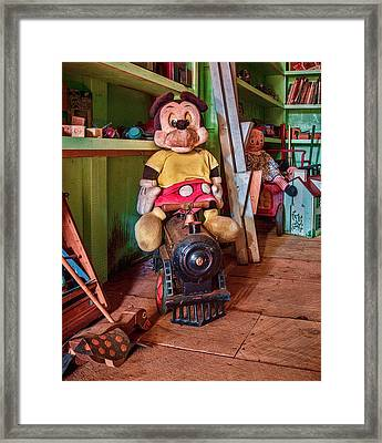 A Home For Mickey 3 Framed Print by Lisa Bell