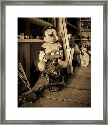 A Home For Mickey Framed Print