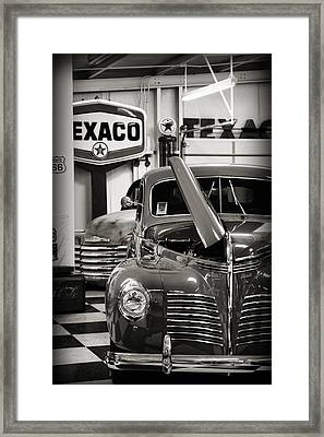 A Hot Ride Framed Print
