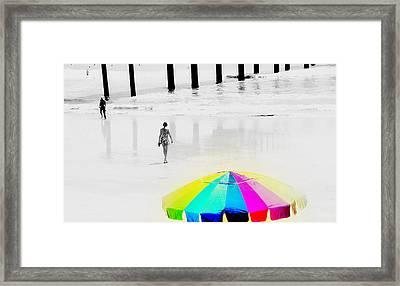 A Hot Summer Day Framed Print by Susanne Van Hulst