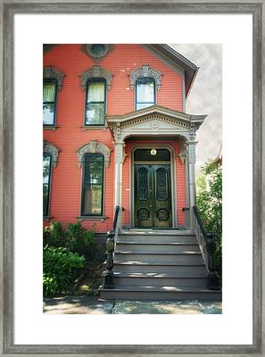 A House In Tremont Framed Print by Michael Demagall