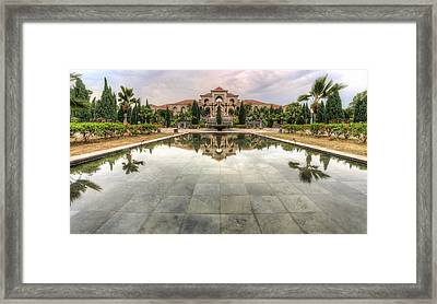 A House Within A Garden Framed Print by Mario Legaspi