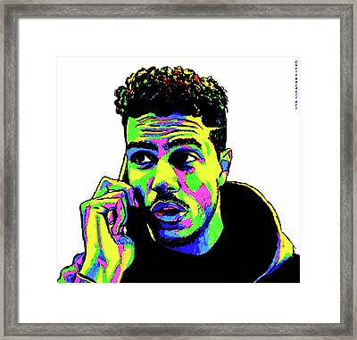 A J Tracey Abstract Framed Print