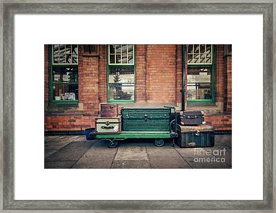 A Journey Into Yesterday Framed Print