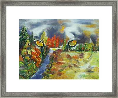 A Journey Through Change Framed Print by Marie-Claire Dole