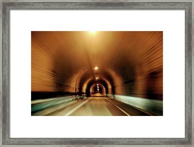 A Journey Through Framed Print by James Mancini Heath