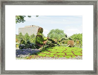 A Journey Through The Imaginary Of The First Nations 2 Framed Print