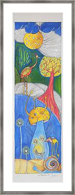 A Journey Through The Memories Of One Little Boy Framed Print by Sonja Isakovic
