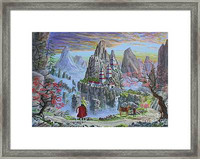 A Journey's End Framed Print